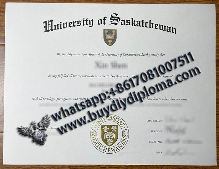 Fake University of Saskatchewan degree online
