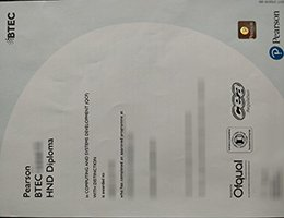 BTEC certificate