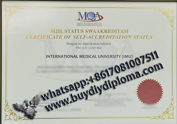 IMU,MQA MALAYSIA CERTIFICATE, IMU certificate, MQA certificate, Malaysia Medical Certificate