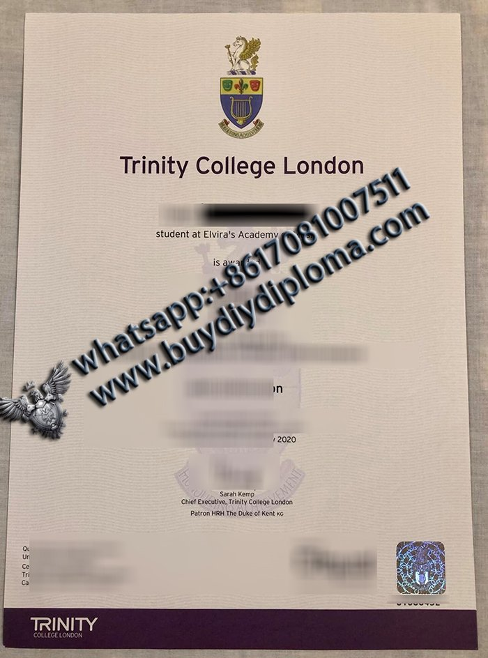 How to buy TCL diploma online, Trinity College London degree?