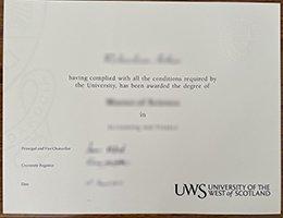 UWS Degree