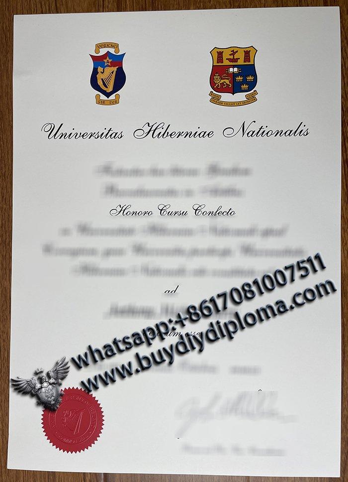 Universitas Hiberniae Nationalis diploma, National University of Ireland Diploma, Buy NUI Degree