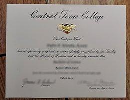 central texas college diploma1