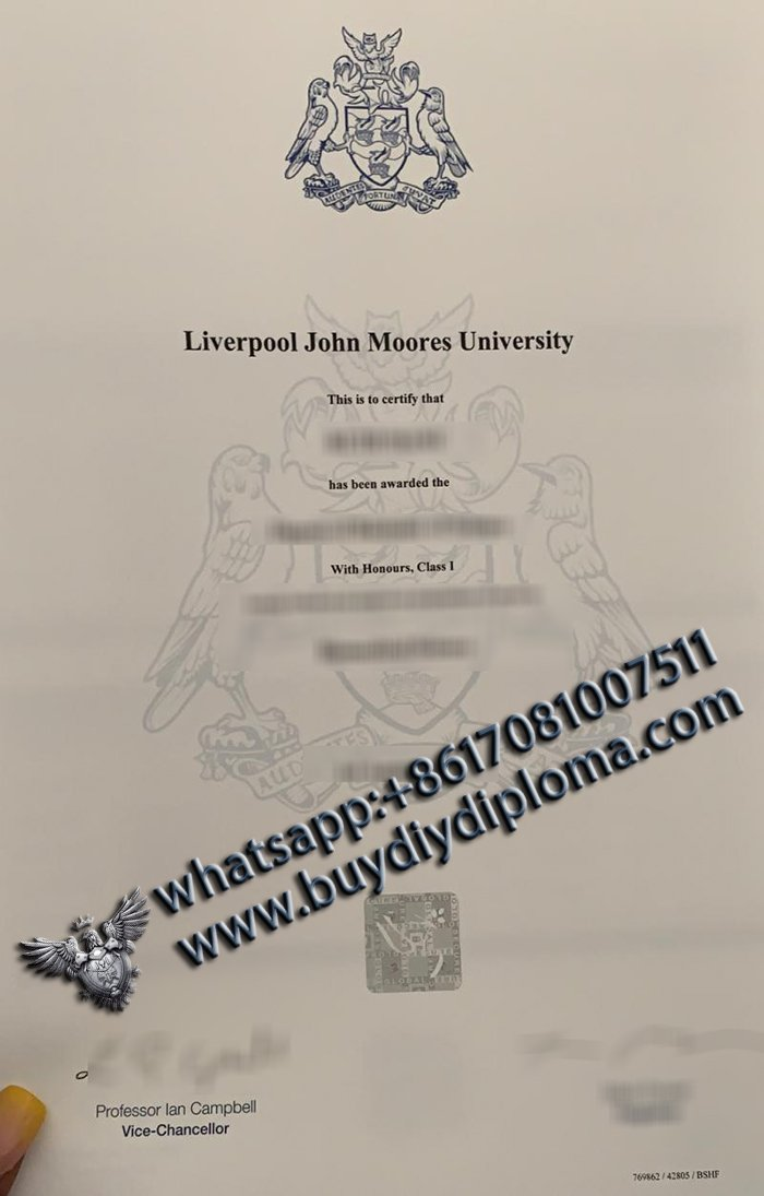 buy fake LJMU diploma in UK? Best place to buy fake diploma online, Liverpool John Moores University degree
