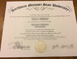 fake Northwest Missouri State university Diploma