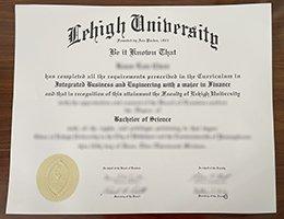 fake Lehigh university degree
