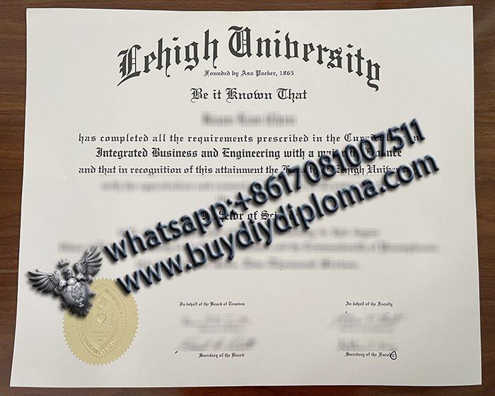 Lehigh university diploma