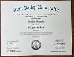 Utah Valley University Diploma1