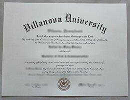 fake Villanova University degree