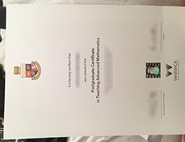 University of Warwick diploma