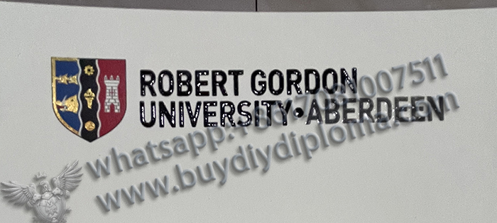 Robert Gordon University Diploma