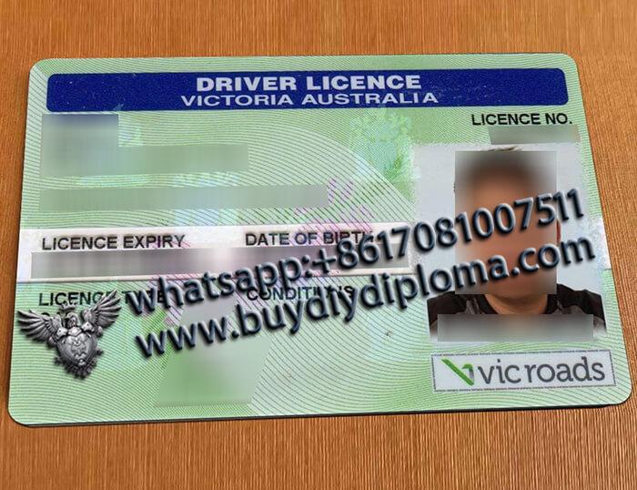 Australian Victoria Scannable Drivers-License