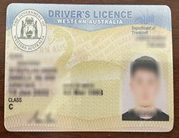 western australia drivers license