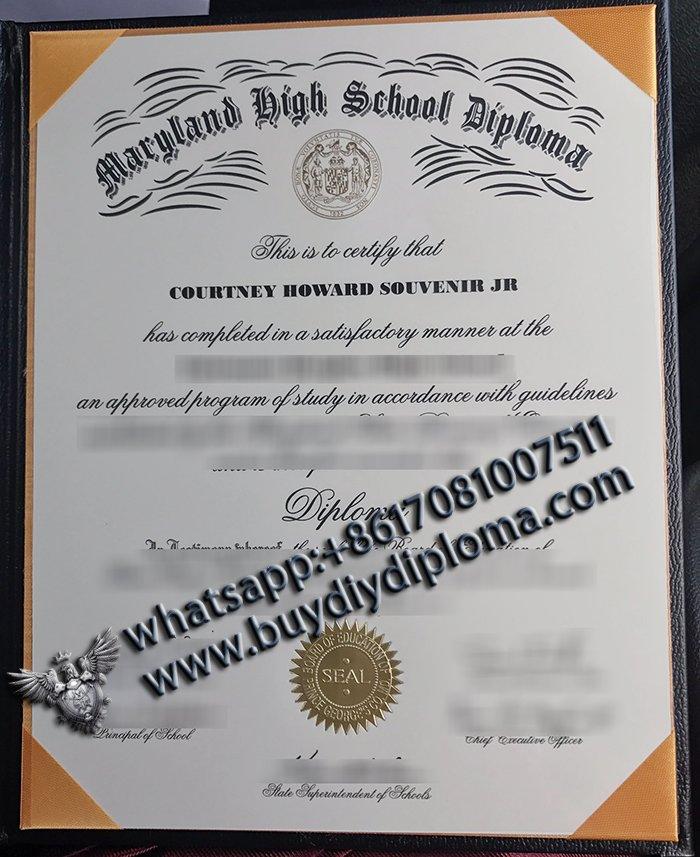 Maryland High School Diploma