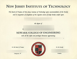 New Jersey Institute of Technology degree