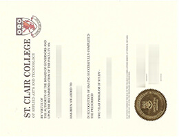 St. Clair College of applied arts and technology diploma