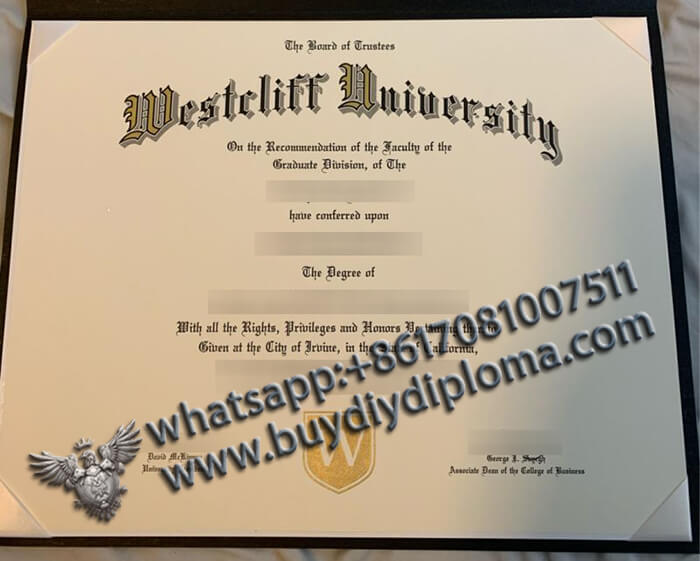 Westrliff University degree