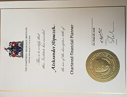 Chartered Insurance Institute certificate