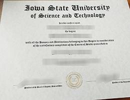 Iowa State University degree