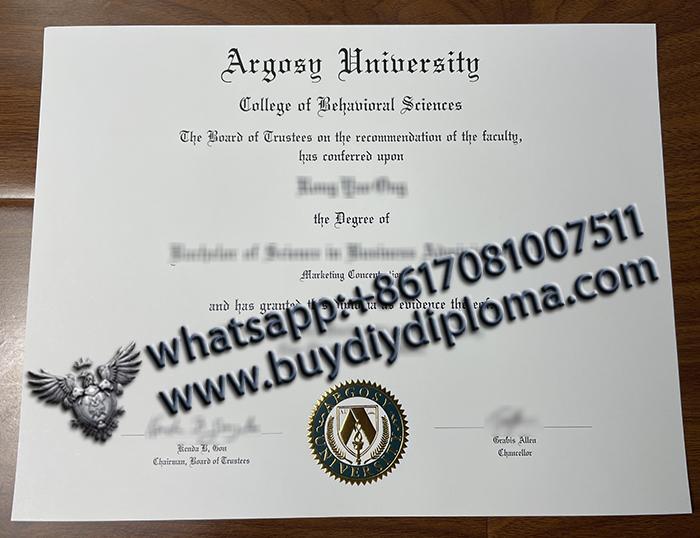Argosy University degree
