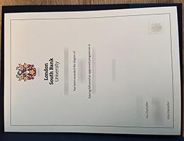 London South Bank University (LSBU) degree