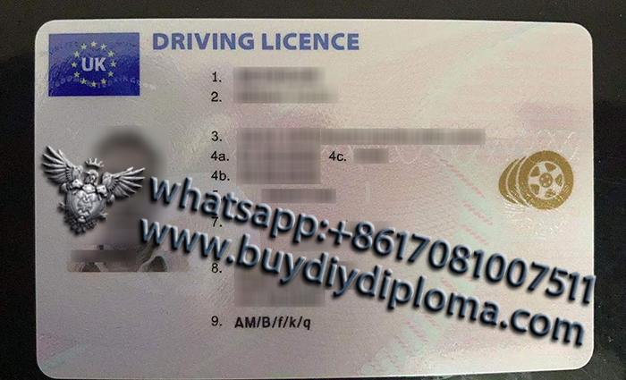 Northern Ireland driver license
