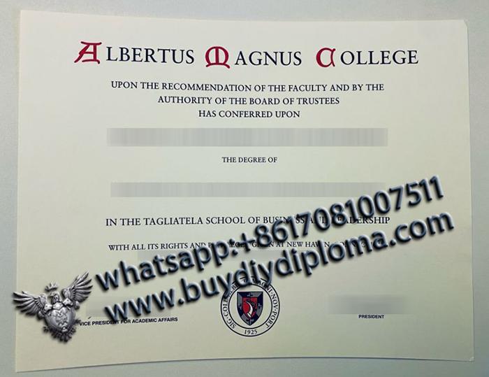 Albertus Magnus College degree