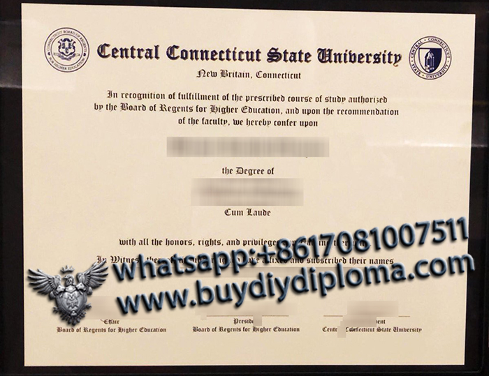 Central Connecticut State University degree