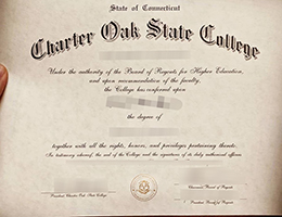 Charter Oak State College degree