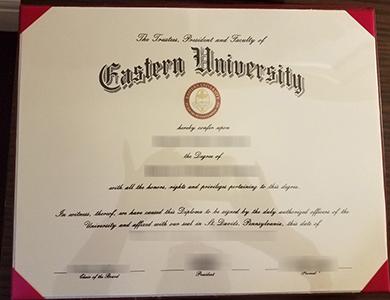 Eastern University degree