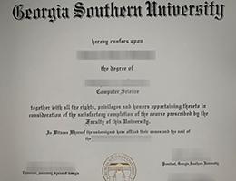 Georgia Southern University degree