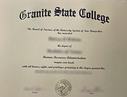 Granite State College degree