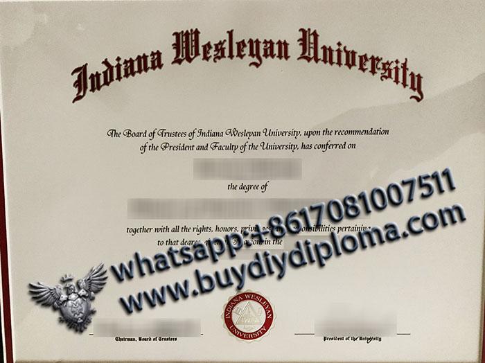 IWU Indiana Wesleyan University degree