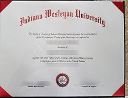 Indiana Wesleyan University degree