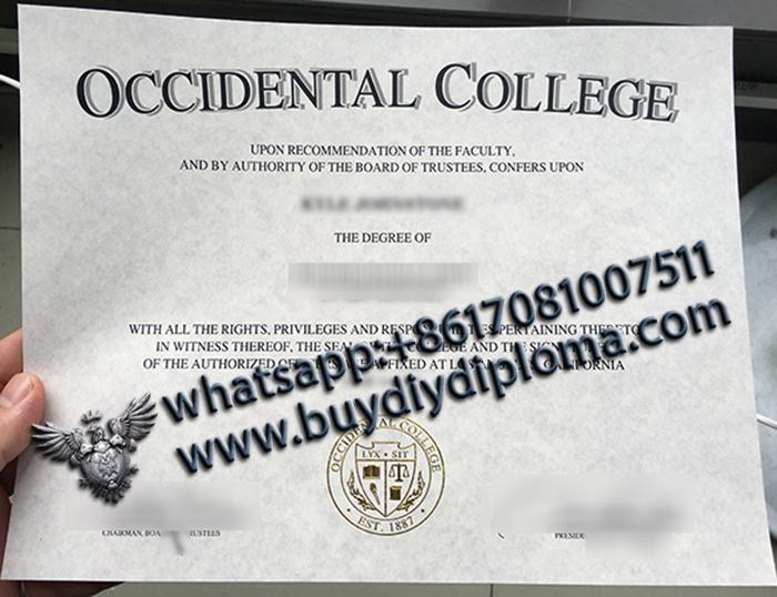 Occidental College degree