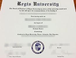 Regis University degree