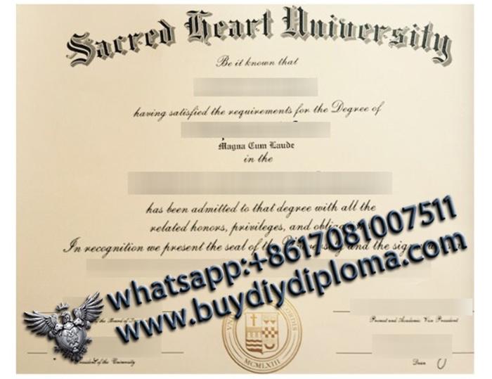 Sacred Heart University degree