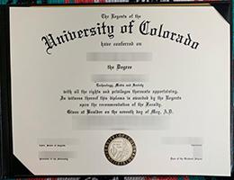 University of Colorado degree