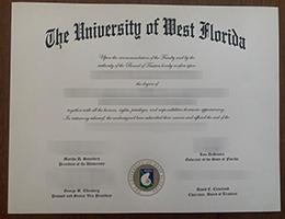 University of West Florida degree (UWF)
