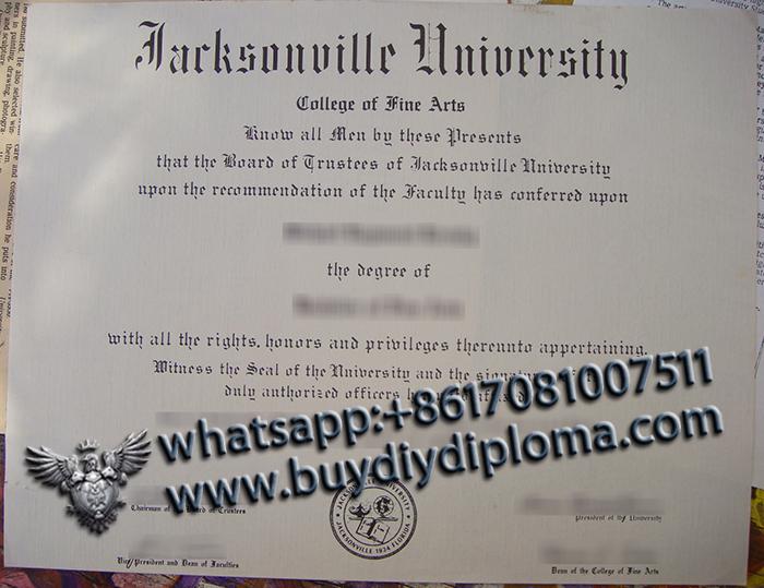Jacksonville University degree